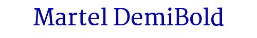 Martel DemiBold