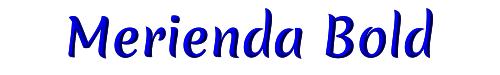 Merienda Bold