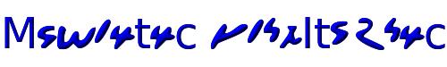 Meroitic boldItalic