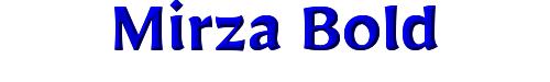 Mirza Bold