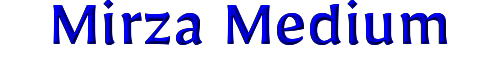Mirza Medium
