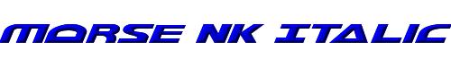 Morse NK Italic