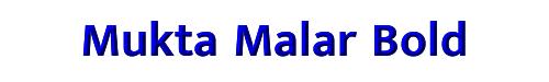 Mukta Malar Bold