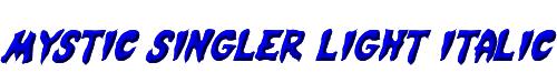 Mystic Singler Light Italic