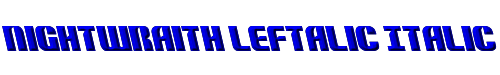 Nightwraith Leftalic Italic