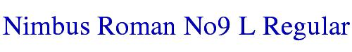 Nimbus Roman No9 L Regular