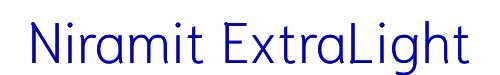 Niramit ExtraLight