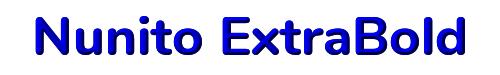 Nunito ExtraBold