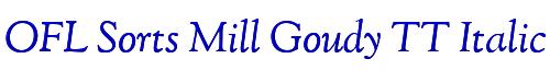 OFL Sorts Mill Goudy TT Italic