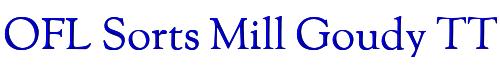 OFL Sorts Mill Goudy TT