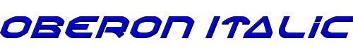 Oberon Italic