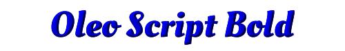 Oleo Script Bold