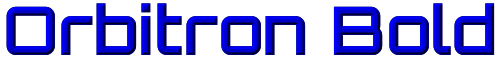 Orbitron Bold