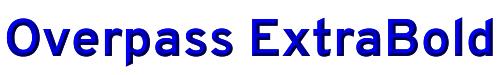 Overpass ExtraBold