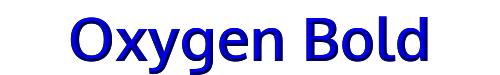 Oxygen Bold