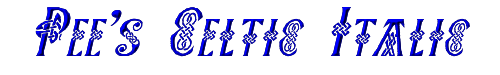 Pee's Celtic Italic