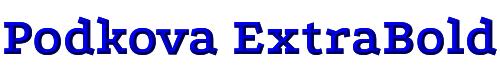 Podkova ExtraBold