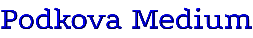 Podkova Medium
