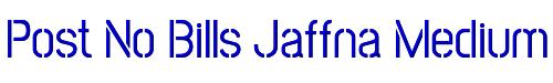 Post No Bills Jaffna Medium