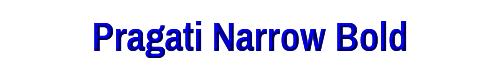 Pragati Narrow Bold