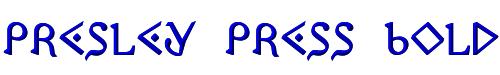 Presley Press Bold