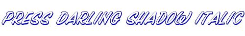 Press Darling Shadow Italic