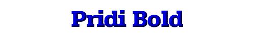 Pridi Bold