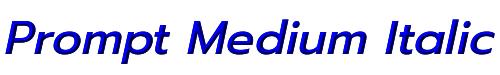 Prompt Medium Italic