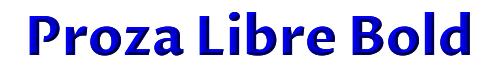 Proza Libre Bold
