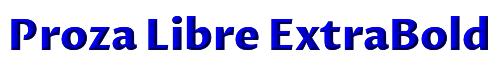 Proza Libre ExtraBold
