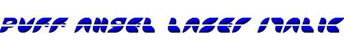 Puff Angel Laser Italic