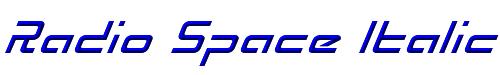 Radio Space Italic