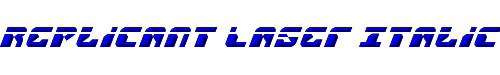 Replicant Laser Italic