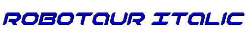 Robotaur Italic