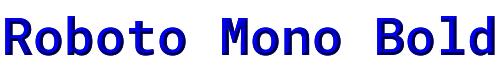 Roboto Mono Bold