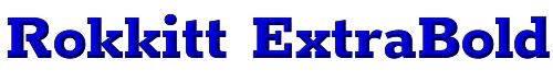 Rokkitt ExtraBold