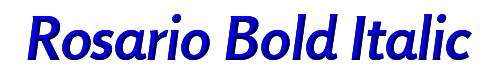 Rosario Bold Italic