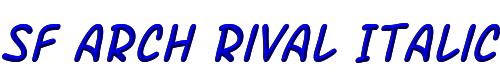 SF Arch Rival Italic