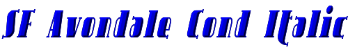 SF Avondale Cond Italic