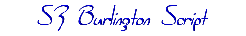 SF Burlington Script