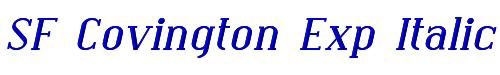 SF Covington Exp Italic