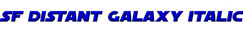 SF Distant Galaxy Italic
