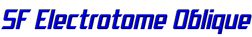 SF Electrotome Oblique