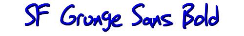 SF Grunge Sans Bold