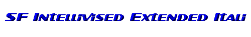 SF Intellivised Extended Italic