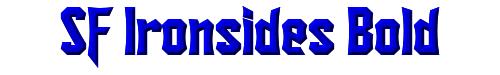SF Ironsides Bold