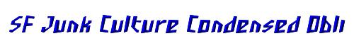 SF Junk Culture Condensed Oblique