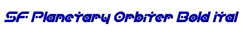 SF Planetary Orbiter Bold Italic