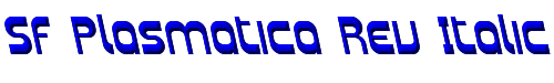 SF Plasmatica Rev Italic