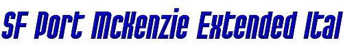 SF Port McKenzie Extended Italic